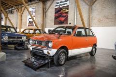 Mazda Chantez (1972) zaujala ve třídě japonských kei cars velkým vnitřním prostorem abohatou výbavou. Délka: 3 metry