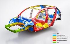 Pasivní bezpečnost zůstává dominantním rysem vozů značky Volvo. Typ XC40 sází především na různé druhy oceli