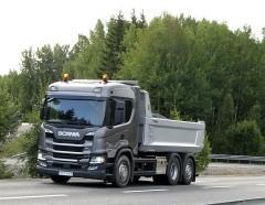 Nejmenší z těžkých vprovedení pro Norsko, R580-B6x4HA, 7 m a 24 t