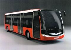 SOR E-bus, 1.generace EBN (2013) s akumulátory vzadu