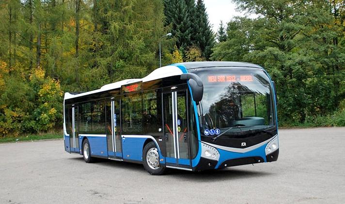 Prototyp dieselového autobusu SOR NS 12