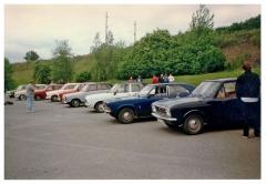 Jaro 1997 – první sraz klubu, ještě pod názvem Cortina Club Brno