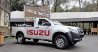Isuzu D-Max Single Cabdruhé generace smotorem 1,9 l RZ4E při představení v České republice v říjnu 2017