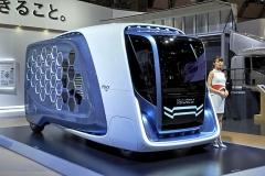 Isuzu Design Concept FD-SI, lehký užitkový vůz budoucnosti (premiéra v Tokiu 2017)