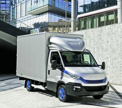 International Van of the Year 2018 – IVECO Daily Blue Power.