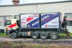 Nové doprovodné vozidlo týmu TBR vzniklo několikerou přestavbou způvodního prototypu řady Tatra Phoenix určeného pro životnostní ahomologační zkoušky.