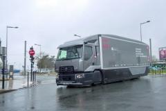 Základem konstrukční studie Urban Lab 2 je 19tunový rozvážkový vůz Renault Trucks D WIDE Euro 6.