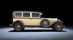 Mercedes-Benz Nürburg 460/500, velký luxusní automobil meziválečného období (1928 – 1933)
