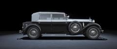 Grossser Mercedes Typ 770 s řadovým osmiválcem se poprvé představil roku 1930