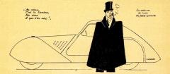 """První katalog zAutosalonu vPaříži 1948: """"luxusní vůz smalým motorem"""""""