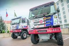 Tatra Buggyra Racing Team bude vroce 2018 bojovat ovelkého dakarského beduína již popáté.