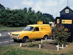 Escorty byly základními dopravními prostředky britské automobilové asociace AA, která pomáhá motoristům již od roku 1905