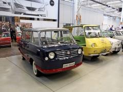 Tyto prototypy vozily továrním komplexem vzácné návštěvy