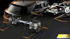 Standardem je systém 4Control. Do 60 km/h natáčí zadní kola až o 2,7° proti směru, nad touto hranicí až o 1° po směru kol předních. Žádný z konkurentů nic podobného nenabízí