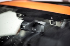 Systém EyeSight je součástí sériové výbavy všech verzí druhé generace Subaru XV. Plní funkce přednárazového brzdění, adaptivního tempomatu, stejně jako upozornění na vyjetí z jízdního pruhu