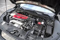 Přeplňovaný zážehový čtyřválec Hondy Civic Type R potěší rychlými reakcemi ilineárním nárůstem výkonu