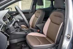 Pokud zvolíte testovanou výbavu Xcellence, dostanete rovněž speciální čalounění sedadel