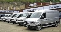 VW Crafter Van připravený kjízdám