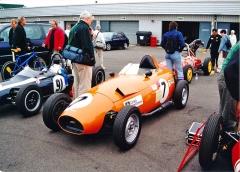 Alexis HF1 s motorem BMC (Austin/Morris), uloženým vpředu (1959)