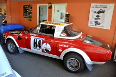 Ex-tovární Fiat 124 Abarth (1975), jediný v týmu Fiat Polski. Tovární pilot Andrzej Jaroszewicz s ním bojoval v Rallye Tatry 75. Guy Moerenhout přijel auto provětrat na Rally Bohemia 2010. Bylo údajně na prodej za 150 000 eur