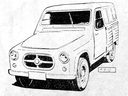 Prototyp polského užitkového automobilu Stal 300 s užitečnou hmotností 250 kg. Vycházel zminivozu Mikrus MR-300 (WSK Mielec, 1957 – 1960, vyrobeno 1730 ks) ado sériové produkce se nedostal