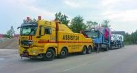 Také odtah těžkých nákladních vozidel  musí probíhat podle všech předpisů...