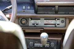 Výhodou japonských automobilů je vysoce funkční topení – u této verze to platí také. Rádio bohužel není originální