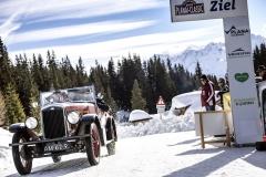 Nejkrásnější automobil startovního pole? Určitě jedinečný Wolseley Hornet Sports (1930) s malým šestiválcovým motorem