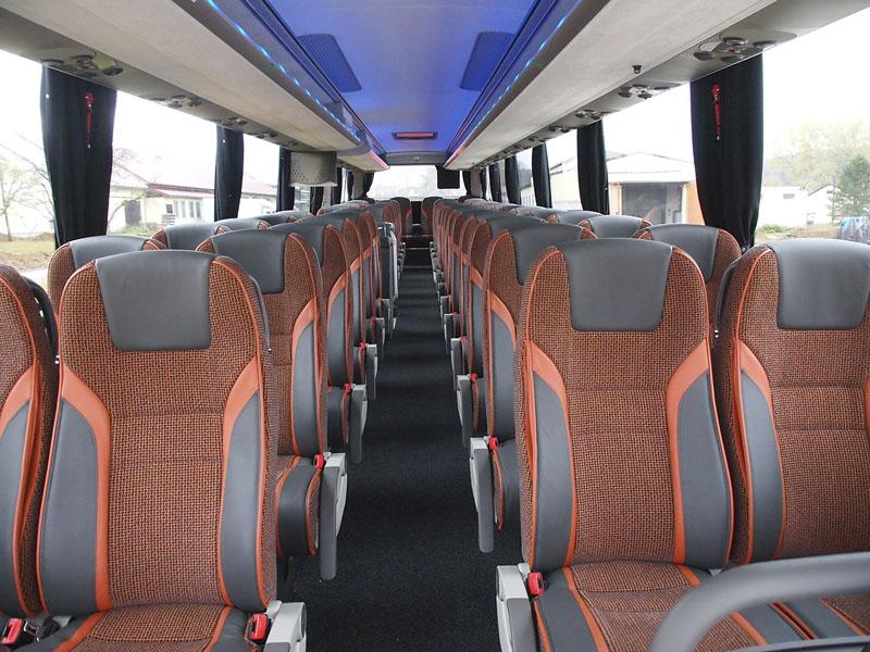 Interiér nabízí cestujícím maximální pohodlí