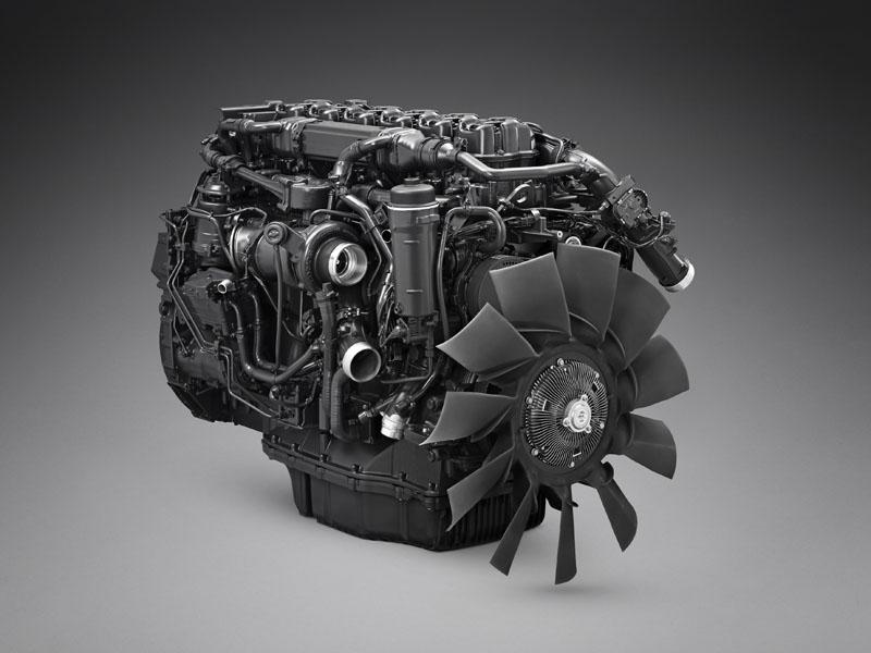 Nový motor Scania na zemní plyn