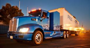Truck Toyota Project Portal vulicích Los Angeles
