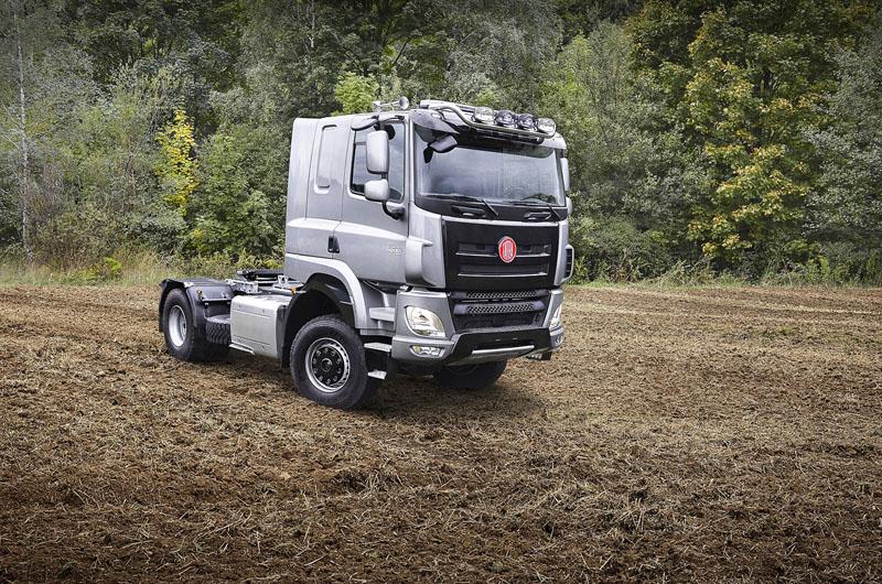 "Novinka vnabídce Tatra Phoenix Agro Euro 6 tahač 4x4 shomologací ""traktor"""