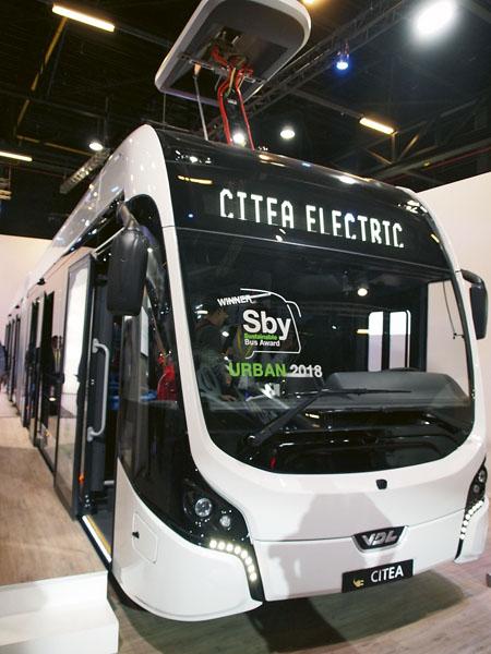 Elektrobus VDL Citea