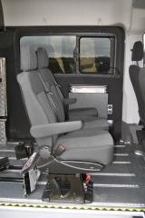 crafter-V druhé řadě jsou tři samostatná, vyjímatelné a posuvná sedadla