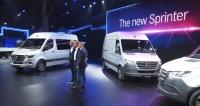 Světová premiéra automobilu Mercedes-Benz Sprinter třetí generace vDuisburgu