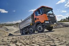 Scania G 450 8x4 jednostranný sklápěč