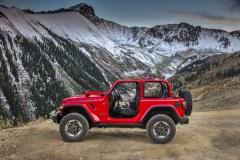 Jeep Wrangler Rubicon 2018 – dvoudveřová, čtyřmístná verze sdemontovatelnými střešními díly