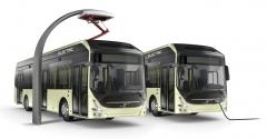 Hybridní prototyp autobusu Volvo Concept