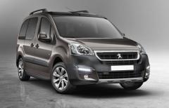Peugeot Partner Tepee si zachoval příjemný robustní vzhled