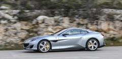 Přitažlivý design nového kupé-kabrioletu je dílem vlastního designérského studia Ferrari. Předchozí Californii vytvořilo studio Pininfarina
