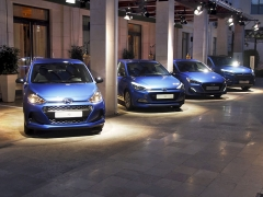Souběžně s Fastbackem Hyundai představil speciální edici Go! prořady i10, i20, i30 a Tucson. Na i30 HB si všimněte předního nárazníku vypůjčeného z Fastbacku!