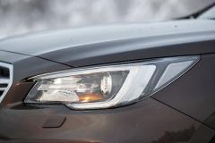 Nové světlomety mají LED zdroje pro potkávací i dálkové světlomety, nechybí ani funkce natáčení