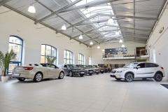 První showroom programu certifikovaných ojetých vozů Emil Frey Select jeotevřen vKolbenově ulici vPraze 9