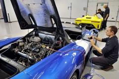 """Rok od představení prototypu Dallara spustila """"sériovou"""" výrobu plánované série 600 kusů"""