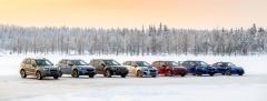 Subaru na finském sněhu ukázalo celou svoji evropskou nabídku