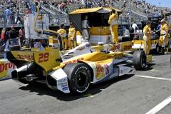 Ryan Hunter-Reay byl posledním americkým mistrem Indy Car Series (jezdí v Andrettiho týmu) před loňským triumfem Josefa Newgardena
