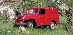 Jeepy se vyrábějí vmnoha zemích, na snímku argentinský Furgón Utilitario, poháněný třílitrovým šestiválcem Kaiser Tornado OHC