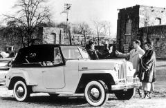 Jeepster model 1948, kabriolet výhradně spohonem pouze zadních kol