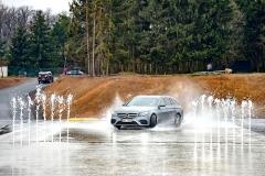 Mercedes-AMG na kluzné ploše