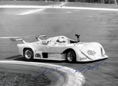 Mauro Nesti, devítinásobný mistr Evropy zItálie (s vozem Osella PA9 BMW na Ecce Homo 1983), který vítězil ještě v šedesáti